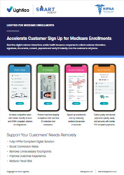 Accelerate Customer Sign Up for Medicare Enrollments